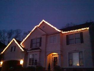 Call Gutter Doctor Today For Your X Mas Light Hanging Needs! 703 403